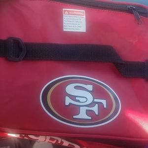 49ers lunch bag